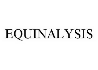 mark for EQUINALYSIS, trademark #78552421