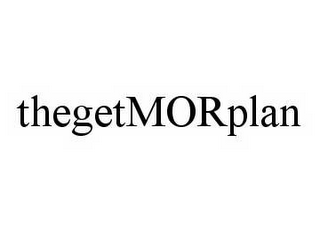 mark for THEGETMORPLAN, trademark #78552482