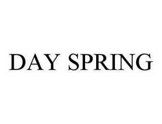 mark for DAY SPRING, trademark #78553012