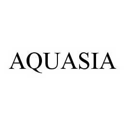 mark for AQUASIA, trademark #78553442