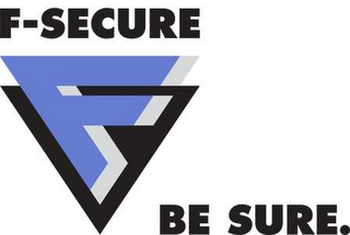 mark for F-SECURE BE SURE, trademark #78553542