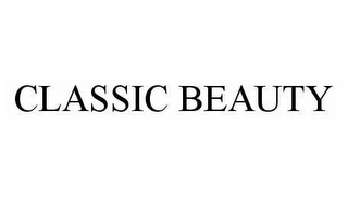 mark for CLASSIC BEAUTY, trademark #78553549