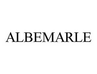 mark for ALBEMARLE, trademark #78554465