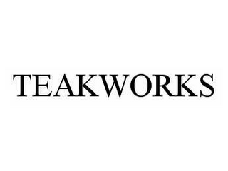 mark for TEAKWORKS, trademark #78555317
