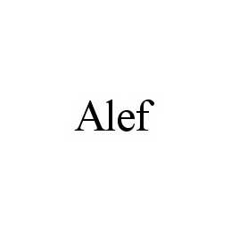 mark for ALEF, trademark #78555581