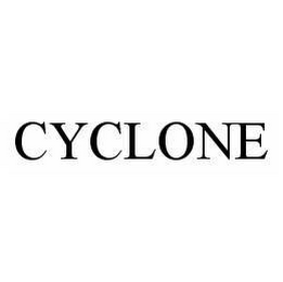 mark for CYCLONE, trademark #78556223