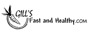 mark for GILL'S FAST AND HEALTHY.COM, trademark #78556479