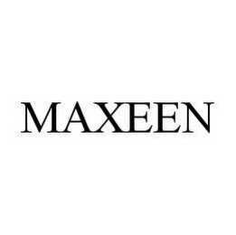 mark for MAXEEN, trademark #78557827