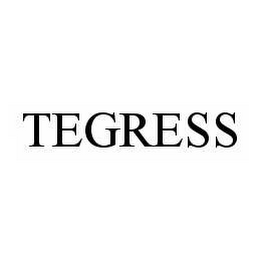 mark for TEGRESS, trademark #78558970