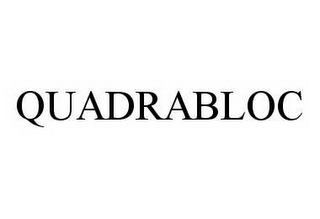mark for QUADRABLOC, trademark #78559119