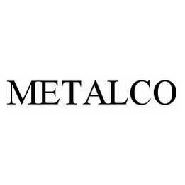 mark for METALCO, trademark #78559157