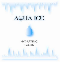 mark for AQUA ICE HYDRATING TONER, trademark #78559211