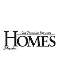 mark for HOMES MAGAZINE SAN FRANCISCO BAY AREA, trademark #78559340