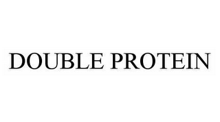 mark for DOUBLE PROTEIN, trademark #78559665