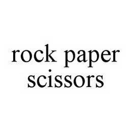 mark for ROCK PAPER SCISSORS, trademark #78559805