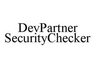 mark for DEVPARTNER SECURITYCHECKER, trademark #78559892