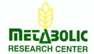 mark for METABOLIC RESEARCH CENTER, trademark #78560135