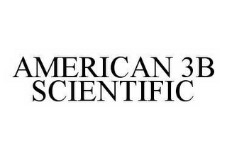 mark for AMERICAN 3B SCIENTIFIC, trademark #78560916