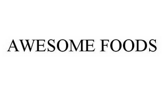 mark for AWESOME FOODS, trademark #78561475