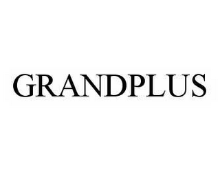 mark for GRANDPLUS, trademark #78561953