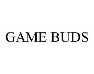 mark for GAME BUDS, trademark #78562188