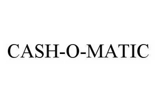 mark for CASH-O-MATIC, trademark #78562561