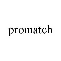 mark for PROMATCH, trademark #78562839