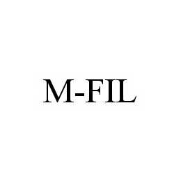 mark for M-FIL, trademark #78562910
