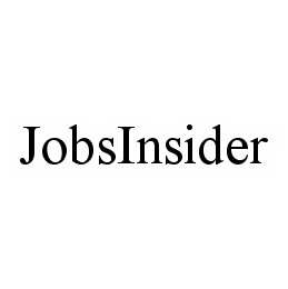mark for JOBSINSIDER, trademark #78563059
