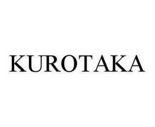 mark for KUROTAKA, trademark #78563184