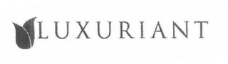 mark for LUXURIANT, trademark #78563229
