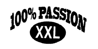 mark for 100% PASSION XXL, trademark #78564290