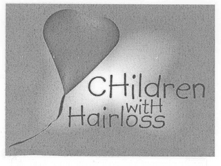 mark for CHILDREN WITH HAIRLOSS, trademark #78564489