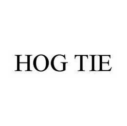 mark for HOG TIE, trademark #78564728