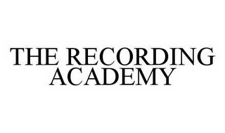 mark for THE RECORDING ACADEMY, trademark #78565051