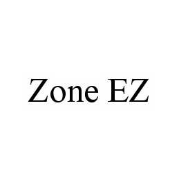 mark for ZONE EZ, trademark #78565420