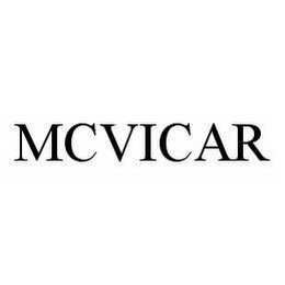 mark for MCVICAR, trademark #78566040