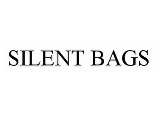 mark for SILENT BAGS, trademark #78566217