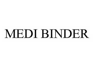 mark for MEDI BINDER, trademark #78566388
