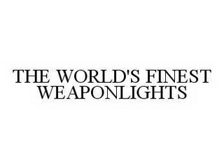 mark for THE WORLD'S FINEST WEAPONLIGHTS, trademark #78567147