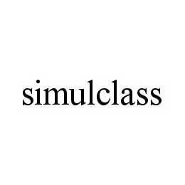 mark for SIMULCLASS, trademark #78567220