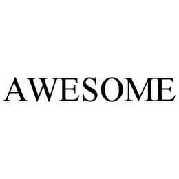 mark for AWESOME, trademark #78568492