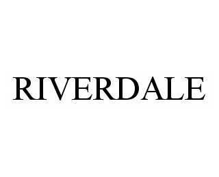 mark for RIVERDALE, trademark #78568583
