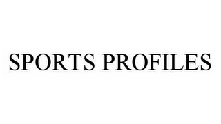 mark for SPORTS PROFILES, trademark #78568619