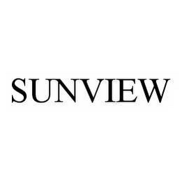 mark for SUNVIEW, trademark #78569170