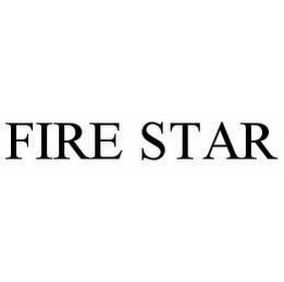 mark for FIRE STAR, trademark #78569187