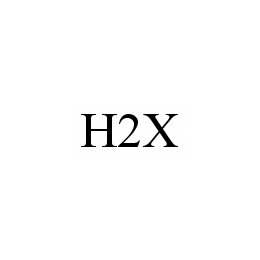 mark for H2X, trademark #78569195