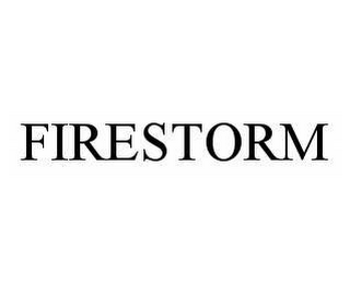 mark for FIRESTORM, trademark #78569757