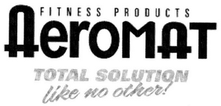 mark for FITNESS PRODUCTS AEROMAT TOTAL SOLUTION LIKE NO OTHER!, trademark #78570340