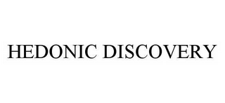 mark for HEDONIC DISCOVERY, trademark #78570392